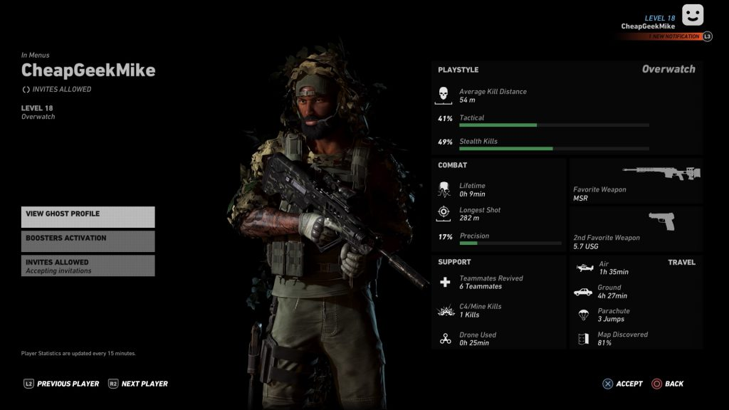 Tom Clancy Ghost Recon Wildlands weapons