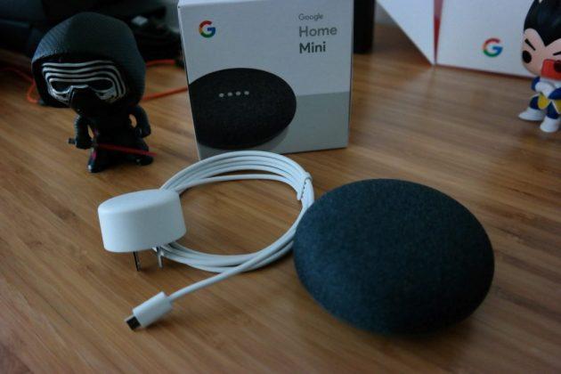 Google Home Mini Package