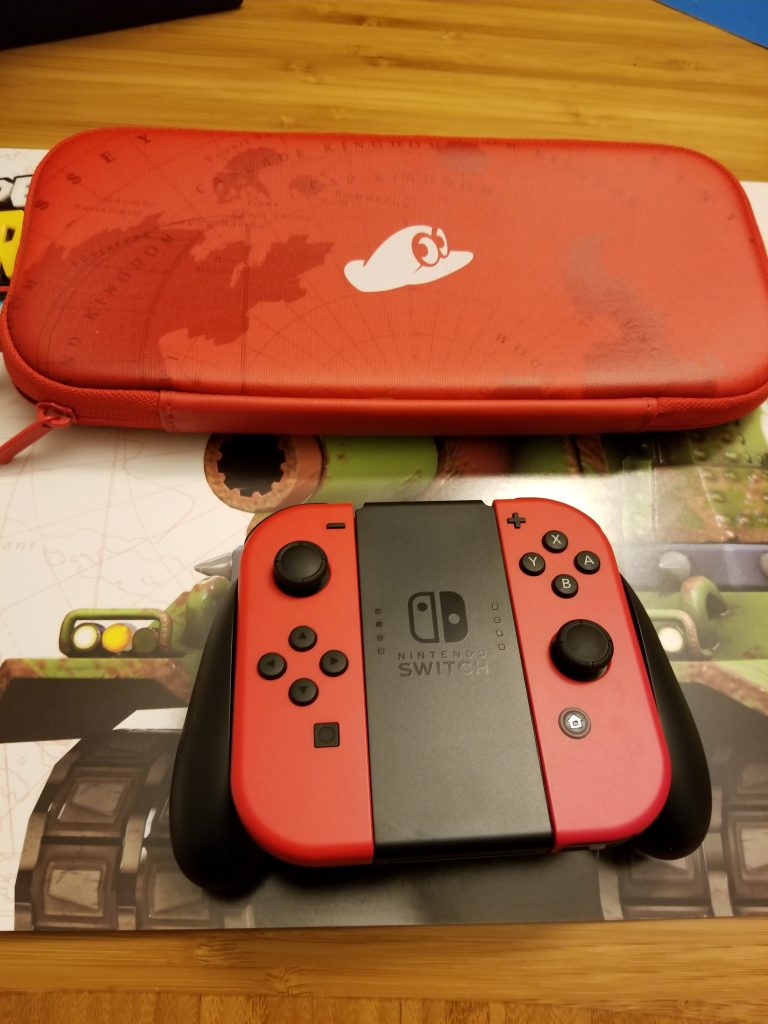 Nintendo Switch Super Mario Odyssey Bundle Edition Unboxing