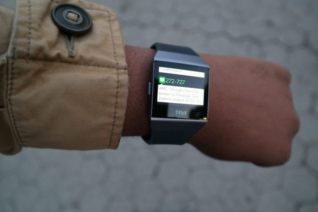 Fitbit Ionic Text