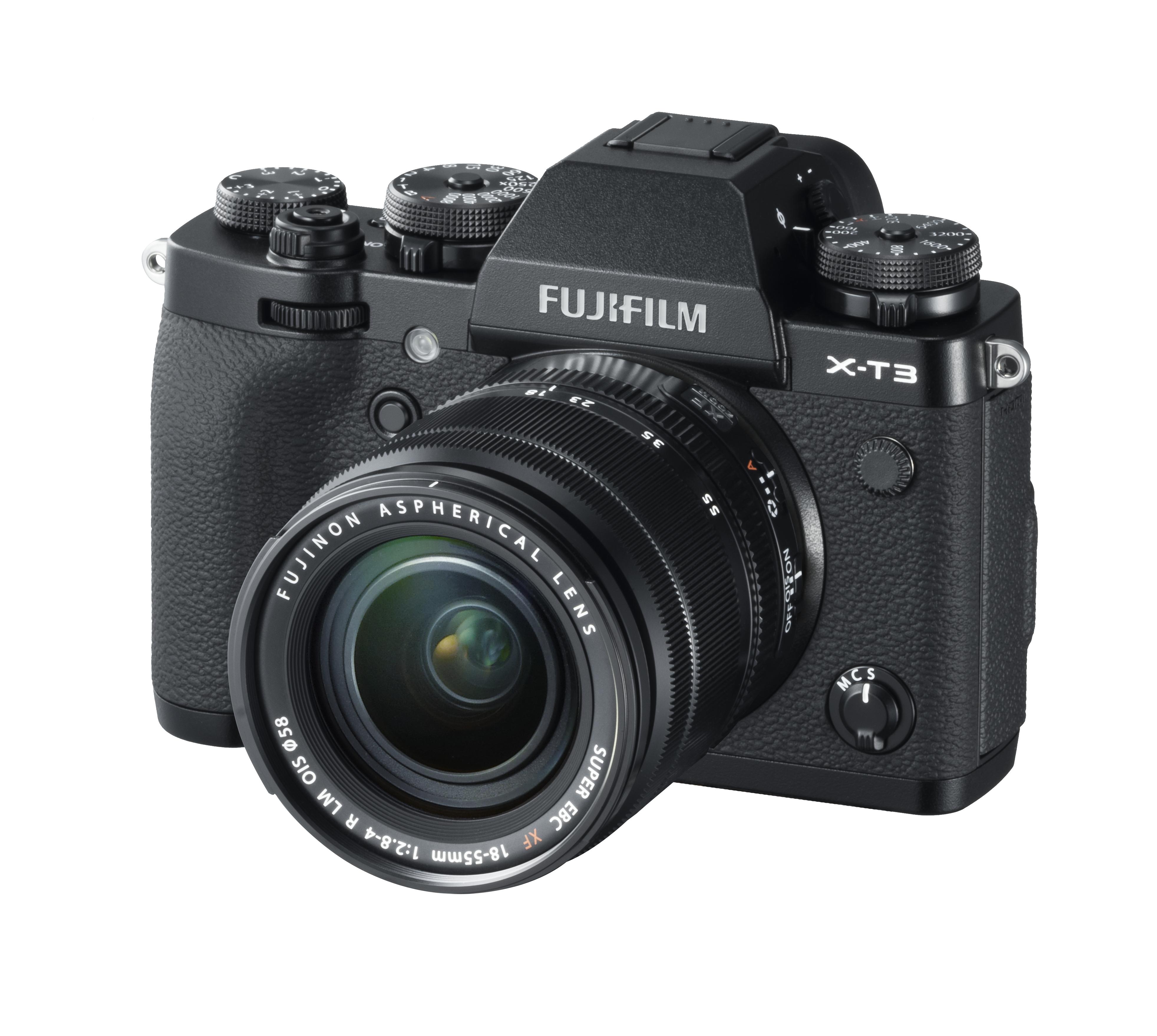 FujiFilm X-T3 with 18-55mm