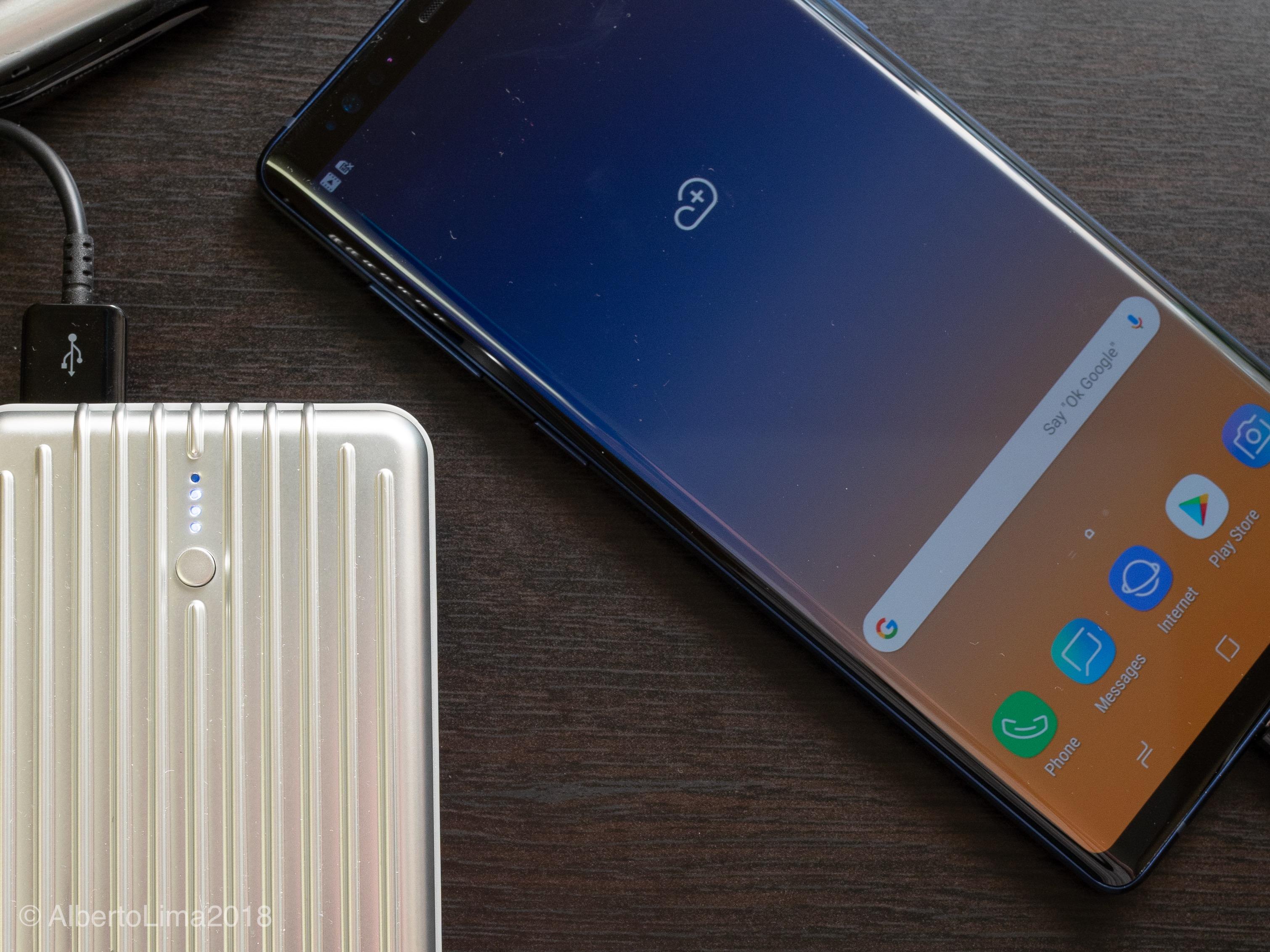Samsung Note 9 Screen Detail