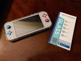 Techarmor Premium HD Clear Ballistic Glass Screen Protector for Nintendo Switch Lite